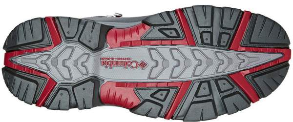 Excellent traction due to the outsole with Omni-Grip non-marking rubber.
