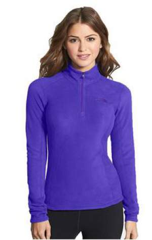 The North Face Womens Glacier 1/4 Zip.