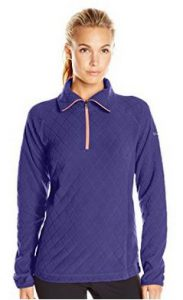 Columbia Women's Glacial Micro Fleece III Print 1/2 Zip