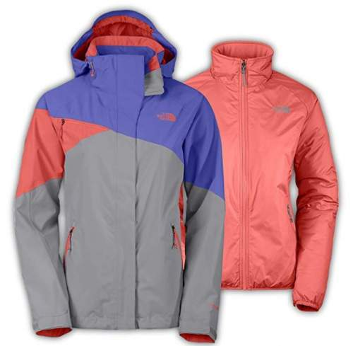 Women's The North Face Cinnabar Triclimate Jacket.