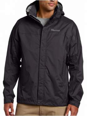 Marmot PreCip rain jacket for men.