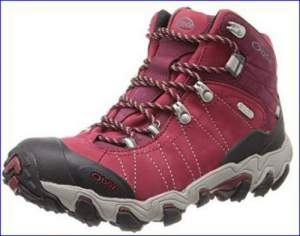 Oboz Bridger Mid BDry hiking boot for women.