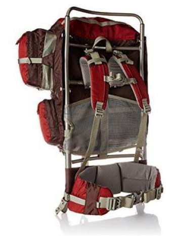 the suspension system in kelty trekker 65 pack - External Frame Backpacks