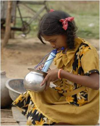 LifeStraw Personal Water Filter.