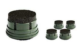 Spare activated carbon filter.