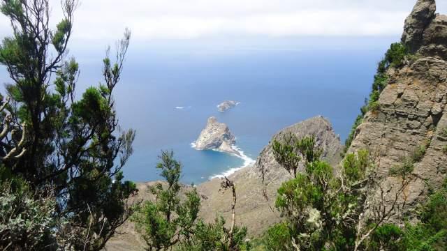 Roques de Anaga. Click to read more.