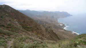 View back towards Almaciga and Benijo.