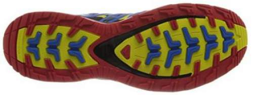 The Contagrip sole with compound rubber construction.