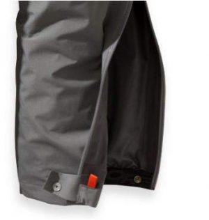 3/4 side zippers, double-type to open from the top and the bottom.