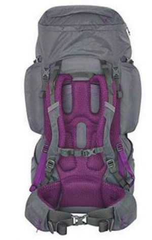 Coyote 60 backpack with its PerfectFit suspension system.