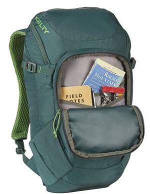 Large front pocket with organization.