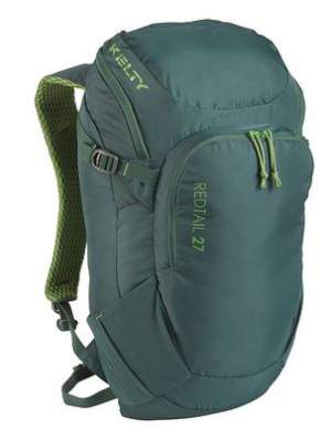 Kelty Redtail 27 backpack - front view.
