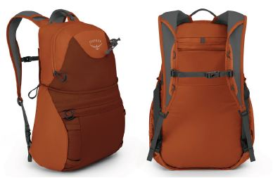 The DayLid - the lid converted to a fully functional daypack.