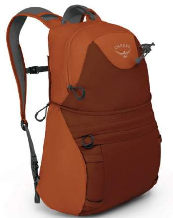 The DayLid daypack front view.