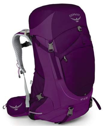 Osprey Sirrus 50 pack - front view.