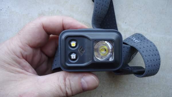 My own Black Diamond Cosmo headlamp.