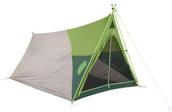 The Kelty Rover tent - front view. More classic it cannot be.