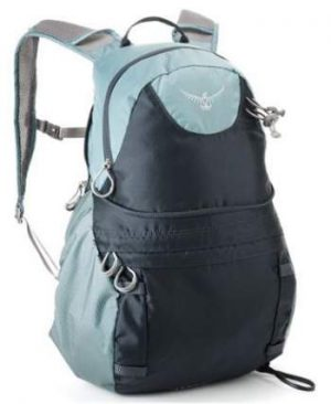 The daypack DayLid in Osprey Ariel AG 65 backpack.
