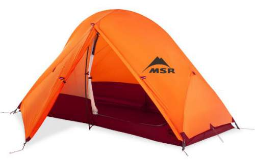 The Access tent 1 with the fly. The vestibule offers 0.84 square meters of covered space.