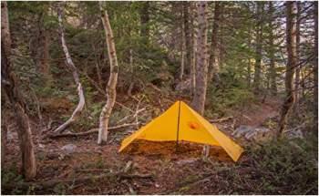 Teton Sports poncho doubles as a tarp shelter.