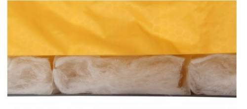 Laminated 60 g/m² Texpedloft Microfibre insulation.