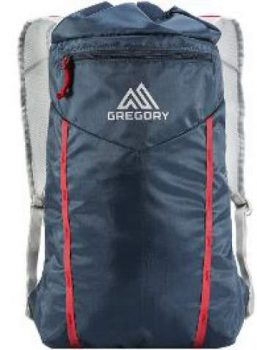 The hydration bladder doubles as a daypack.