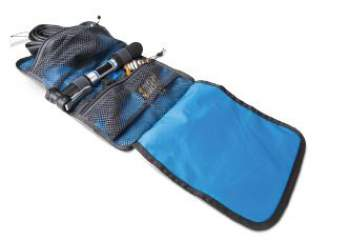 Integrated removable roll-out ToolWrap is stored in the bottom compartment.