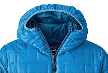 The hood is without adjustment, only an elastic around the face.