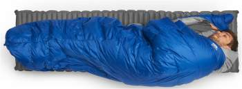 Backcountry quilt is great for side sleepers as well.