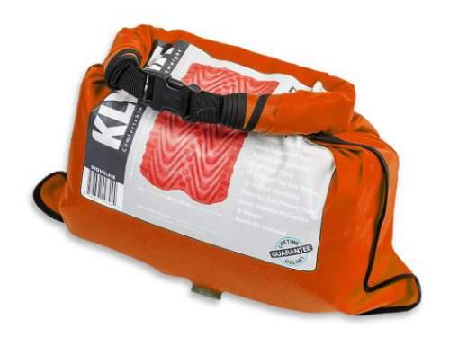 Stuff sack which doubles as the air bag pump.