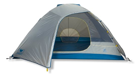 The tent with the fly.