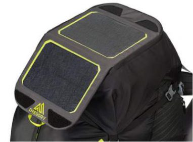 Integrated Goal Zero Nomad 7 Plus Solar Panel.