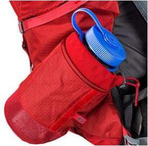 The sidewinder holster for a water bottle.