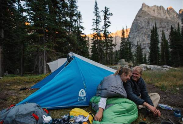 The Clip Flashlight 2 Tent - a great tool for couples. You will be close to each other for sure.