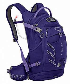 Osprey Raven 14 pack for women.
