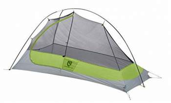 Nemo Hornet 1 Tent semi-freestanding type with Y-pole..