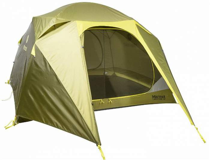 Marmot Limestone 4P Tent - very advanced tent for professionals.