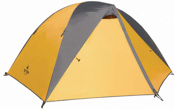 Teton Sports Mountain Ultra Tent - with footprint included.