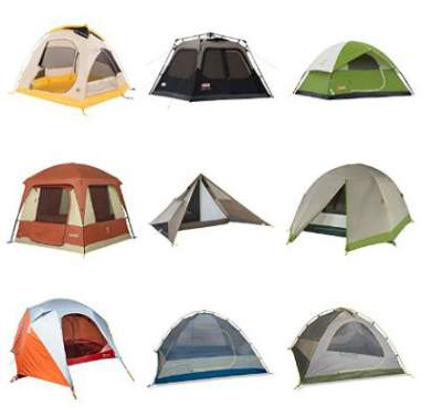 Some really great car camping tents for 4 people.