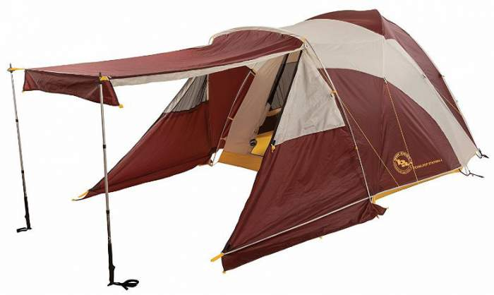 Big Agnes Tensleep Station Tent - the most versatile of all.
