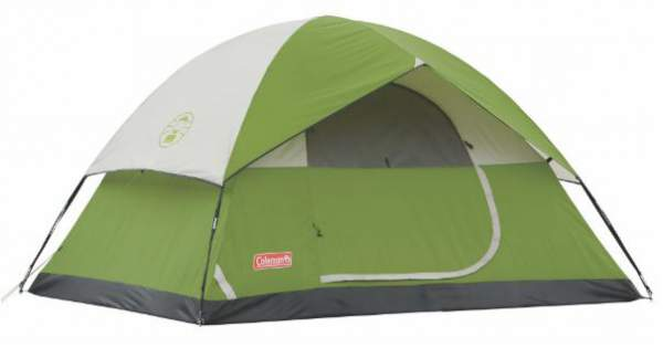 Coleman Sundome 4 Person Tent - the most affordable of all.