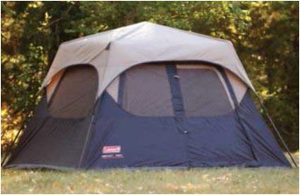28c9d8421d4 Coleman Instant 4 Person Camping Tent - Under 1 Minute Setup ...