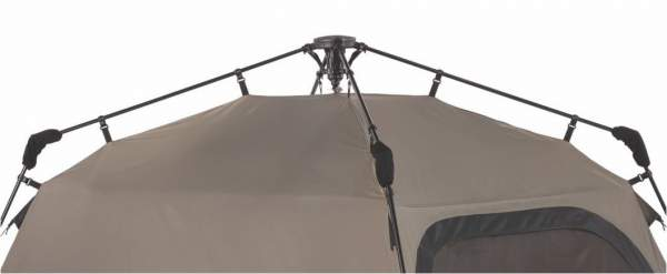 The roof poles look like an umbrella construction; all is pre-attached to the  sc 1 st  Mountains For Everybody & Coleman Instant 4 Person Camping Tent - Under 1 Minute Setup ...