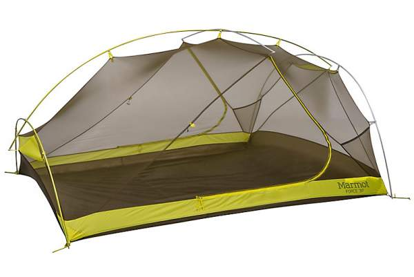 Marmot Force 3P Tent shown without the fly.