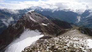 Climbing Monte Confinale