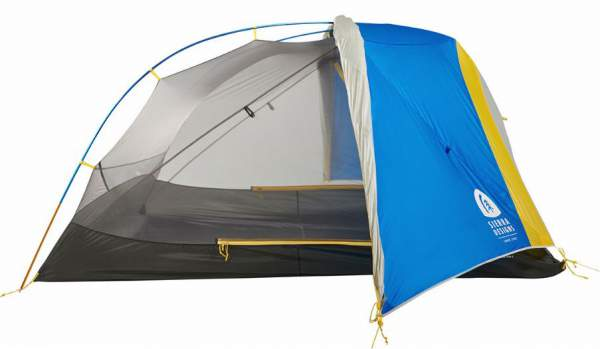 Sierra Designs Sweet Suite 3 Tent in one of its stargazing configurations.