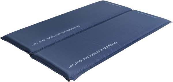 ALPS Mountaineering Lightweight Self-Inflating Double Air Pad.