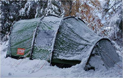 The Crua Tri is a tent for all seasons.