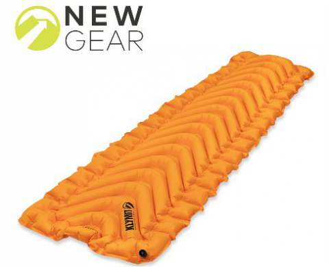 Klymit Insulated V Ultralite SL Inflatable Sleeping Pad.