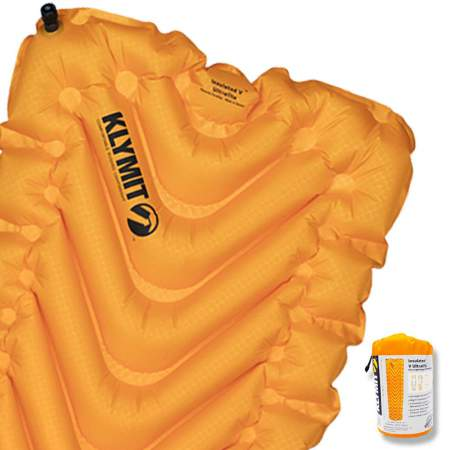 Great packed size for such an insulated pad.